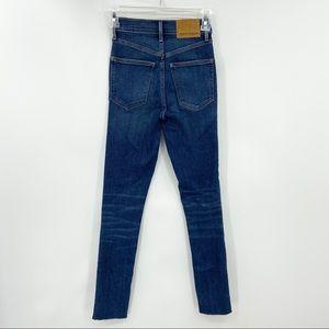 DENIM FORUM Lola Skinny Crop Jeans, Raw Hem